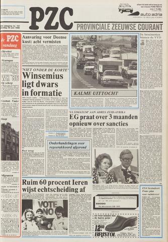 Provinciale Zeeuwse Courant 1986-06-28