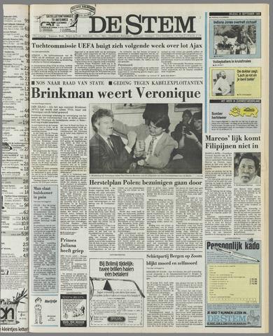 de Stem 1989-09-29