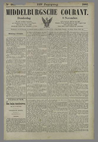 Middelburgsche Courant 1882-11-09
