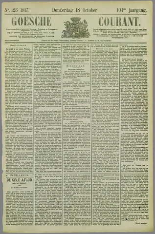 Goessche Courant 1917-10-18