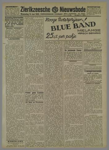 Zierikzeesche Nieuwsbode 1932-06-15