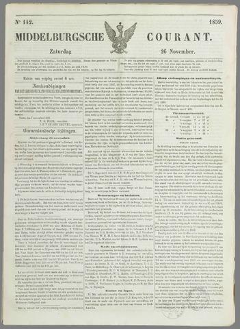 Middelburgsche Courant 1859-11-26