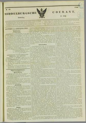 Middelburgsche Courant 1846-07-11