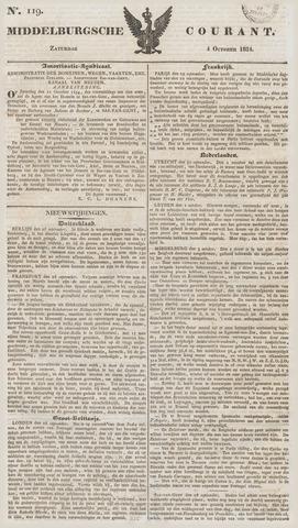 Middelburgsche Courant 1834-10-04