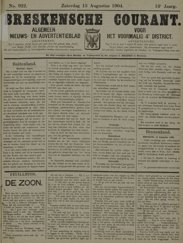 Breskensche Courant 1904-08-13