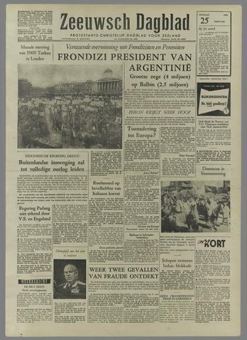 Zeeuwsch Dagblad 1958-02-25