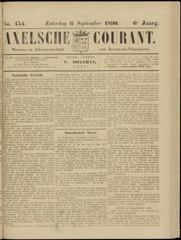 Axelsche Courant 1890-09-06