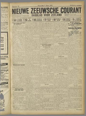 Nieuwe Zeeuwsche Courant 1922-03-15