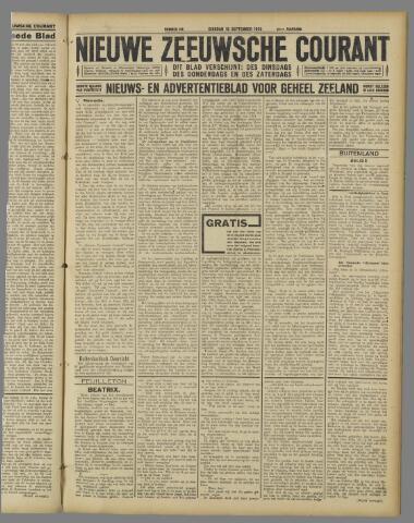 Nieuwe Zeeuwsche Courant 1925-09-15