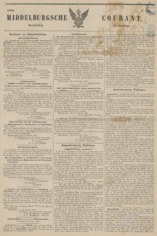 Middelburgsche Courant 1852-10-28