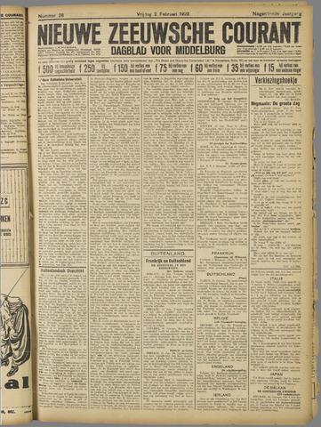 Nieuwe Zeeuwsche Courant 1923-02-02