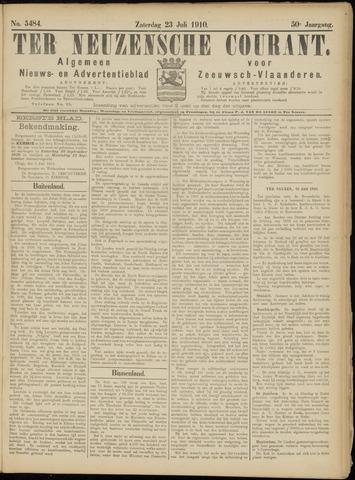 Ter Neuzensche Courant. Algemeen Nieuws- en Advertentieblad voor Zeeuwsch-Vlaanderen / Neuzensche Courant ... (idem) / (Algemeen) nieuws en advertentieblad voor Zeeuwsch-Vlaanderen 1910-07-23
