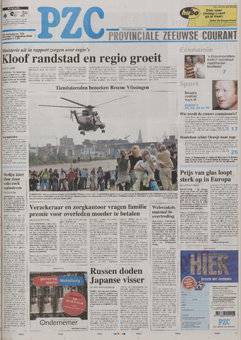 Provinciale Zeeuwse Courant 2006-08-17