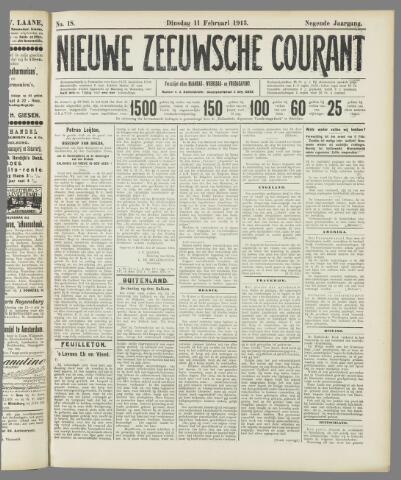 Nieuwe Zeeuwsche Courant 1913-02-11