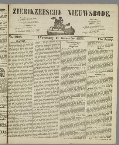 Zierikzeesche Nieuwsbode 1855-12-19