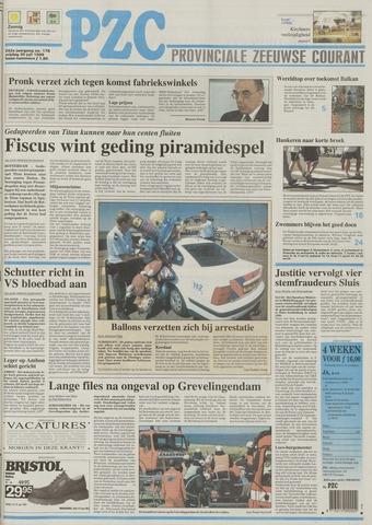 Provinciale Zeeuwse Courant 1999-07-30