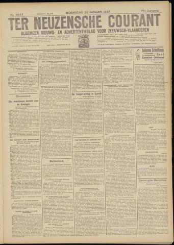 Ter Neuzensche Courant. Algemeen Nieuws- en Advertentieblad voor Zeeuwsch-Vlaanderen / Neuzensche Courant ... (idem) / (Algemeen) nieuws en advertentieblad voor Zeeuwsch-Vlaanderen 1937-01-20