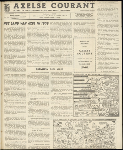 Axelsche Courant 1960