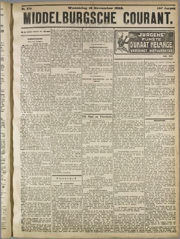 Middelburgsche Courant 1922-11-15