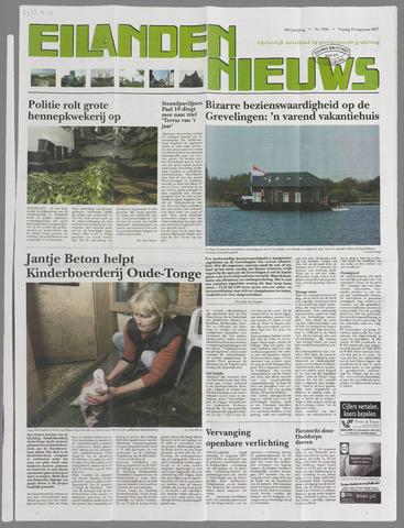 Eilanden-nieuws. Christelijk streekblad op gereformeerde grondslag 2007-08-10