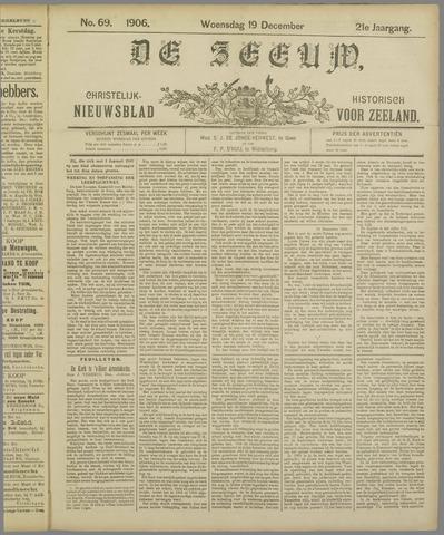 De Zeeuw. Christelijk-historisch nieuwsblad voor Zeeland 1906-12-19