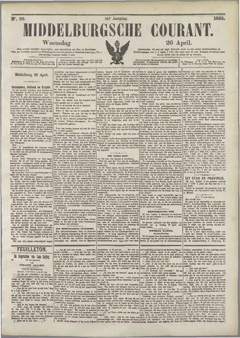 Middelburgsche Courant 1899-04-26