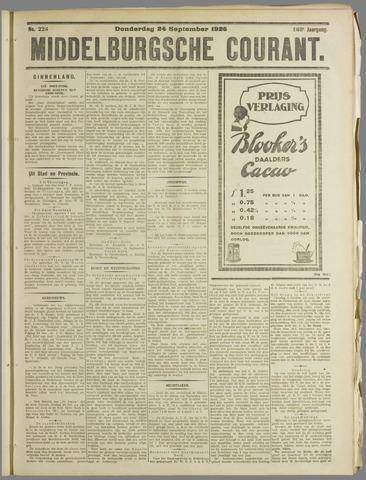 Middelburgsche Courant 1925-09-24