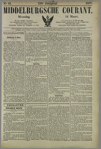 Middelburgsche Courant 1887-03-14