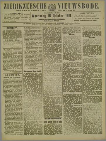 Zierikzeesche Nieuwsbode 1911-10-18