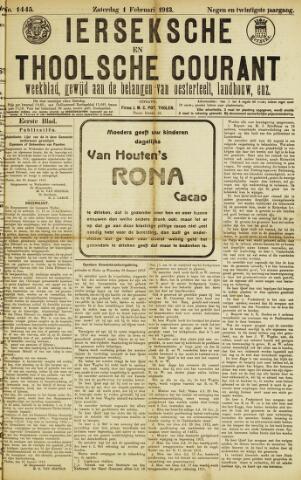 Ierseksche en Thoolsche Courant 1913-02-01