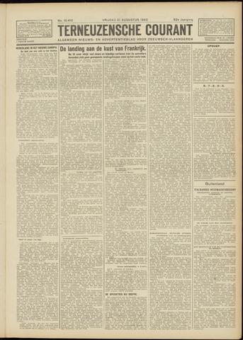 Ter Neuzensche Courant. Algemeen Nieuws- en Advertentieblad voor Zeeuwsch-Vlaanderen / Neuzensche Courant ... (idem) / (Algemeen) nieuws en advertentieblad voor Zeeuwsch-Vlaanderen 1942-08-21