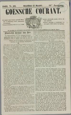 Goessche Courant 1864-03-21