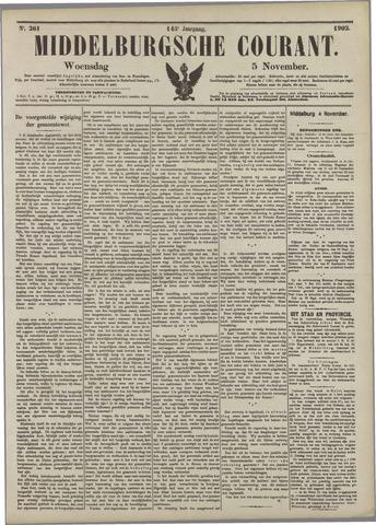 Middelburgsche Courant 1902-11-05