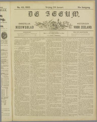 De Zeeuw. Christelijk-historisch nieuwsblad voor Zeeland 1902-01-24
