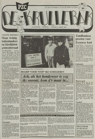 Provinciale Zeeuwse Courant katern Krullenbak (1981-1999) 1986-03-11