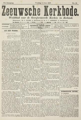 Zeeuwsche kerkbode, weekblad gewijd aan de belangen der gereformeerde kerken/ Zeeuwsch kerkblad 1916-06-02
