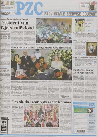 Provinciale Zeeuwse Courant 2004-05-10