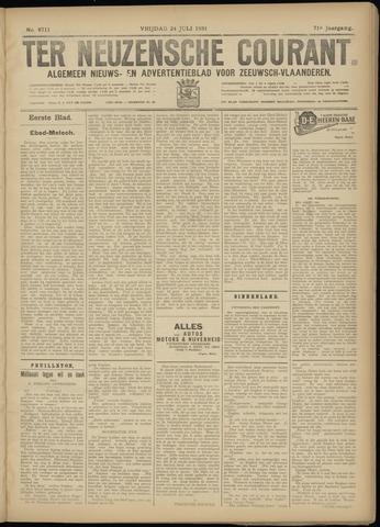 Ter Neuzensche Courant. Algemeen Nieuws- en Advertentieblad voor Zeeuwsch-Vlaanderen / Neuzensche Courant ... (idem) / (Algemeen) nieuws en advertentieblad voor Zeeuwsch-Vlaanderen 1931-07-24