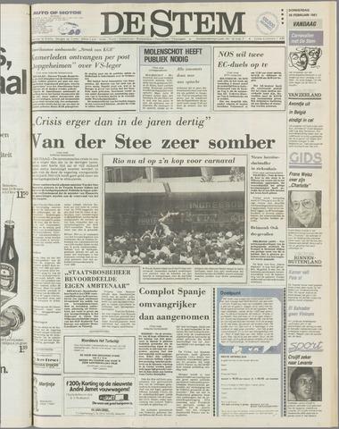 de Stem 1981-02-26