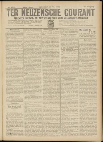Ter Neuzensche Courant. Algemeen Nieuws- en Advertentieblad voor Zeeuwsch-Vlaanderen / Neuzensche Courant ... (idem) / (Algemeen) nieuws en advertentieblad voor Zeeuwsch-Vlaanderen 1937-07-21