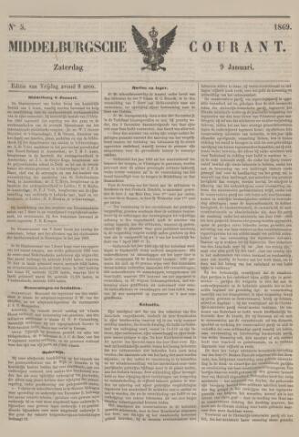 Middelburgsche Courant 1869-01-09