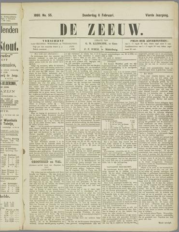 De Zeeuw. Christelijk-historisch nieuwsblad voor Zeeland 1890-02-06