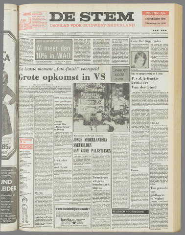 de Stem 1976-11-03