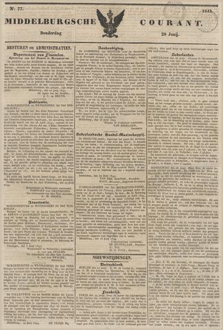 Middelburgsche Courant 1843-06-29