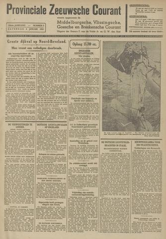 Provinciale Zeeuwse Courant 1941-01-04