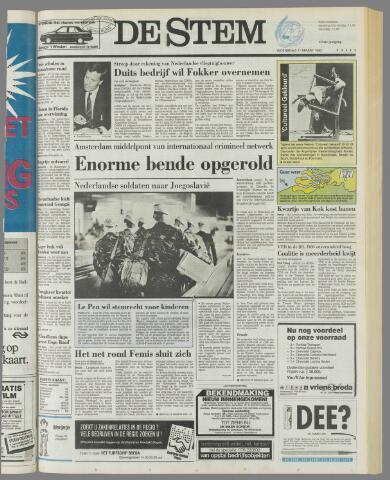 de Stem 1992-03-11
