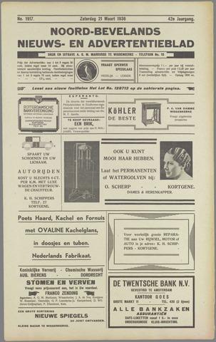 Noord-Bevelands Nieuws- en advertentieblad 1936-03-21