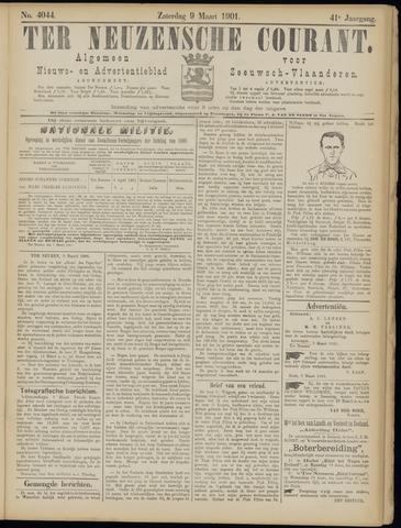 Ter Neuzensche Courant. Algemeen Nieuws- en Advertentieblad voor Zeeuwsch-Vlaanderen / Neuzensche Courant ... (idem) / (Algemeen) nieuws en advertentieblad voor Zeeuwsch-Vlaanderen 1901-03-09
