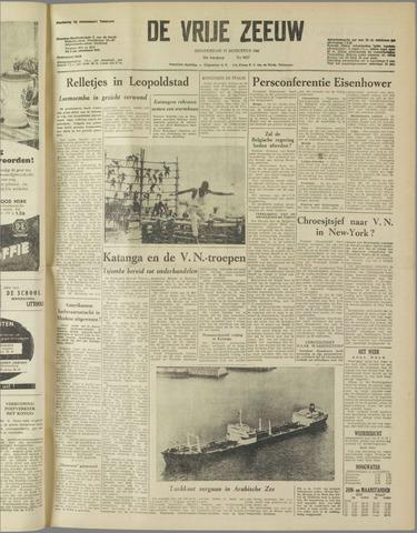 de Vrije Zeeuw 1960-08-11