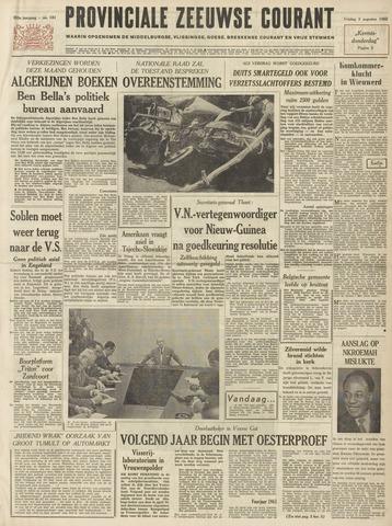 Provinciale Zeeuwse Courant 1962-08-03